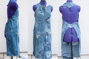 Удобный, стильный и практичный фартук из старых джинсов: лайфхак, для которого не нужны навыки кройки
