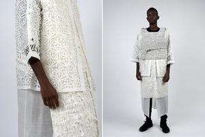 Дизайнер дарит бумаге новую жизнь, используя ее для производства одежды. Подобный материал применяли еще в Древнем Китае для создания доспех