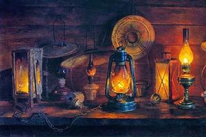 Бабушкина масляная лампа: некоторые люди до сих пор с большим успехом используют ее в своем хозяйстве