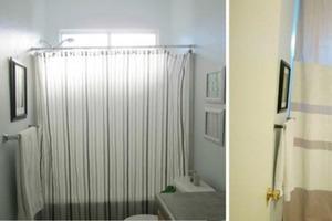 Не нашла в магазине штору для ванной от потолка до пола: сделала ее сама за полчаса