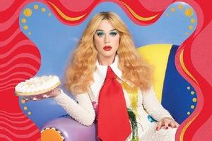 """Кэти Перри """"надела"""" клоунский нос для обложки нового альбома: Smile дебютирует 14 августа, а заглавная песня выйдет еще раньше"""