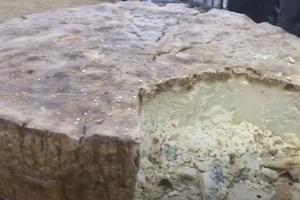 Итальянские сыроделы побили мировой рекорд Гиннесса, сделав головку пекорино весом почти 600 кг