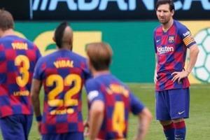 """В завершишемся сезоне """"Барселона"""" показала худший результат за 12 лет в Лиге чемпионов"""