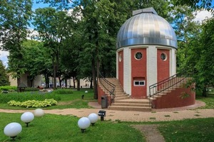 Обсерватория в Парке Горького в Москве: астрономический павильон 50-х годов будет отреставрирован