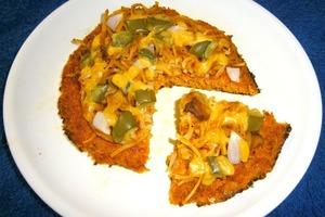 Пиццу готовлю на необычной основе: делаю ее из моркови