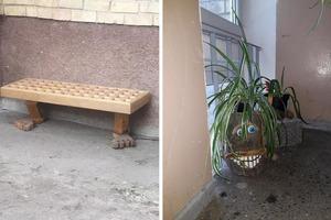 Чего только ни увидишь во дворах и подъездах советских литовских многоэтажек: фото делали сами жильцы