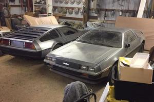 Удивительное рядом: два DeLorean имеют последовательные VIN-номера, малый пробег и стояли в сарае с 1981 года. Цена находки - 50 000 $