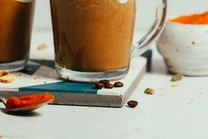 Осенний тыквенный латте: необыкновенное сочетание кофе, молока и тыквенного пюре (рецепт)