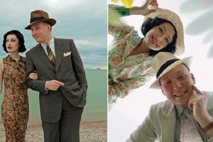 Молодая пара выглядит так, словно застряла в 30-х годах XX века: но познакомились они очень даже современным способом