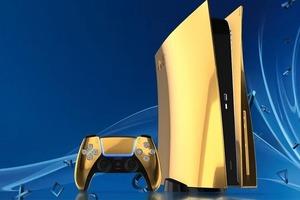 Новая PlayStation 5 из золота: компания будет продавать игровую приставку, корпус которой покрыт золотом и платиной