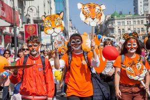 """Ежегодный День амурского тигра во Владивостоке отпразднуют онлайн: вместо """"полосатого"""" шествия объявлен конкурс видео"""