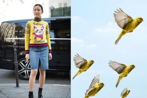 Разнообразные оттенки желтого в вашем гардеробе, которые можно комбинировать для создания образов