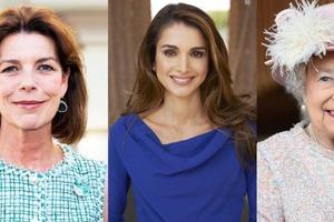 Принцесса Монако, королевы Иордании и Англии: многодетные мамы-аристократки, у которых четверо и более детей (фото)