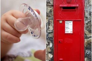 Чтобы облегчить для малышки расставание с пустышкой, мама положила ее в почтовый ящик. Через несколько дней девочка получила письмо