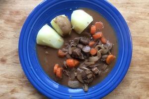 Рагу из говяжьего сердца: осенью особенно люблю радовать своих близких сытным и необычным ужином