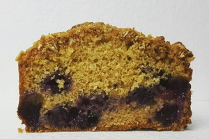 Интересное сочетание вкусов и потрясающий аромат: к чаю готовлю кексы с кофе и черникой