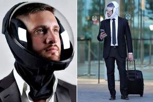 Западная компания предлагает заменить защитные маски на созданные ими шлемы с микроклиматом внутри