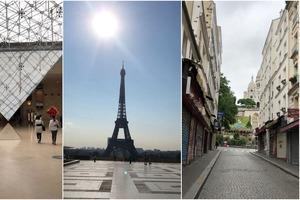 Пока в Париже не было туристов, полюбоваться им вышли местные жители: они уверяют, что безлюдный город выглядит куда симпатичнее (фото)