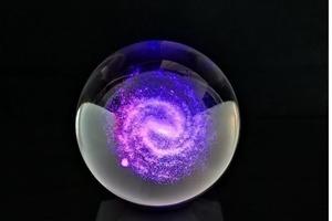 Идеальный элемент дизайна: Ланиакея - сверхскопление галактик и наш любимый Млечный Путь заключены в стеклянную сферу