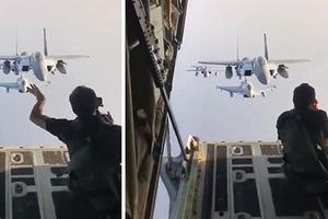 Как делают снимки истребителей: журналист поделился закулисьем фотосьемок