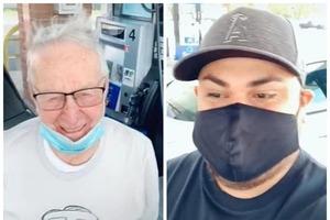 Чаевые в размере 12 000 $: блогер поблагодарил 89-летнего доставщика пиццы, который вынужден работать, чтобы сводить концы с концами