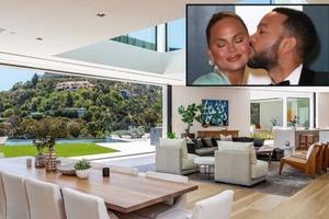 Музыкант Джон Ледженд и бывшая модель Крисси Тейген купили особняк в Беверли-Хиллз за 17,5 млн долларов