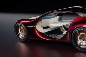 Mercedes-Benz Vision Duet Rendering: автономный стол для пикника на колесах (концепт от выпускника)