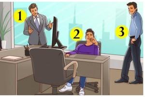 Тренируем логическое мышление: кто из трех людей на картинке - владелец офиса