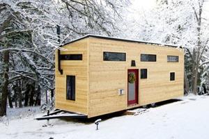 Пара построила крошечный домик, чтобы избавиться от ежемесячных платежей по ипотеке