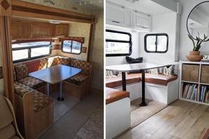"""Семья из 5 человек превратила старый фургон в современное пространство. Фото """"до"""" и """"после"""""""